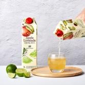 오프라이스 사과,라임에이드 1L (업체별도 무료배송)