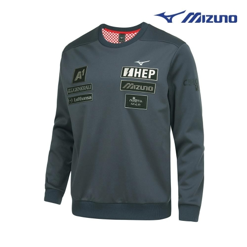 [미즈노] 남성 CRO 스키 기모 맨투맨 티셔츠 32YC967007 (업체별도 무료배송)
